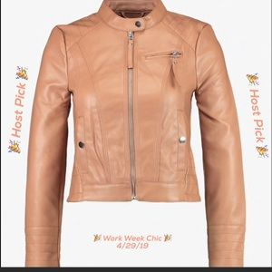 🎉HP🎉 Faux Leather Jacket